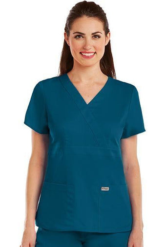 Grey's Anatomy - Ladies Nurse Scrub Top 4153