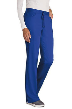 Grey's Anatomy Scrub Pant XXS / Galaxy / 77% Polyester / 23% Rayon Grey's Anatomy - Ladies Nurse Scrub Pant 4232 PETITE