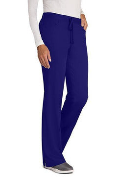 Grey's Anatomy Scrub Pant XXS / Purple Rain / 77% Polyester / 23% Rayon Grey's Anatomy - Ladies Nurse Scrub Pant 4232 PETITE