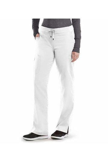 Ladies 6 Pocket Scrub Pant Petite