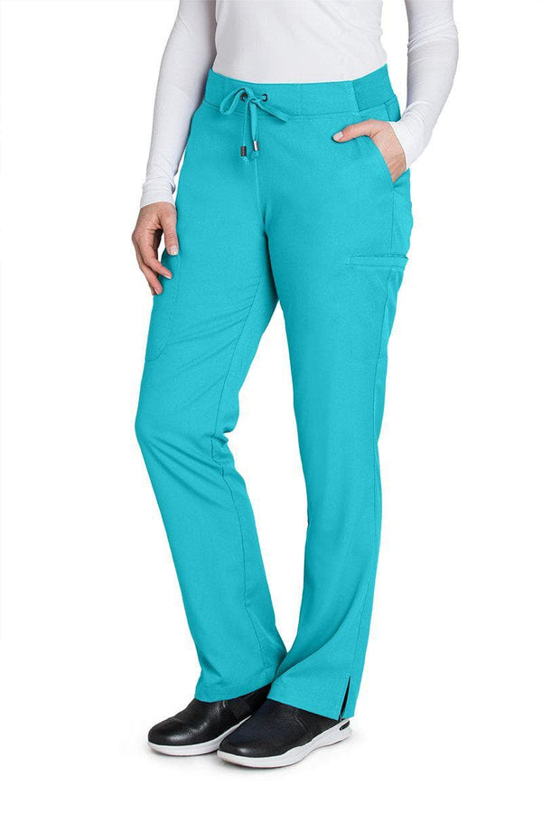 Grey's Anatomy Scrub Pant XXST / 39 Teal Ladies Scrub Pant Tall