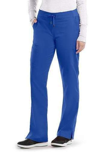 Ladies 6 Pocket Scrub Pant Tall