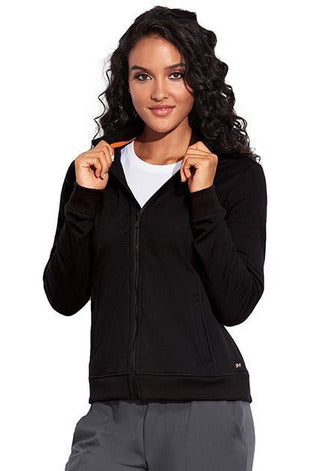 MOTION by BARCO Jacket XS / BLACK / 64% POLYESTER / 33% RAYON / 3% SPANDEX MOTION by BARCO - Ladies Ariel Jacket MOJ002
