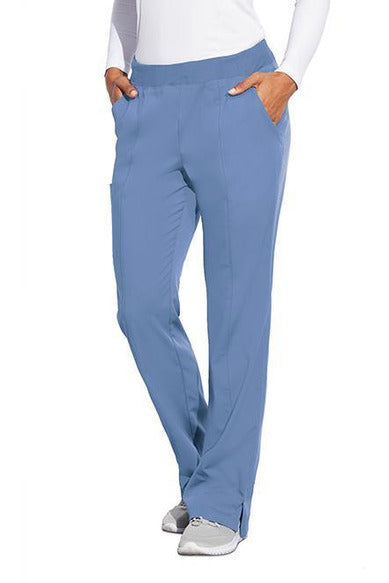 MOTION by BARCO Scrub Pant XS / CIEL / 64% POLYESTER / 33% RAYON / 3% SPANDEX MOTION by BARCO - Ladies Jill Pant MOP002 TALL