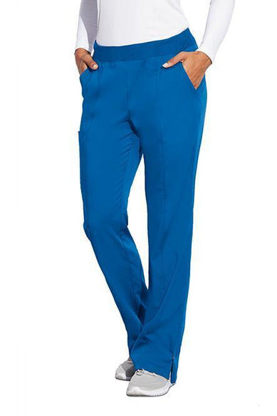 MOTION by BARCO Scrub Pant XS / NEW ROYAL / 64% POLYESTER / 33% RAYON / 3% SPANDEX MOTION by BARCO - Ladies Jill Pant MOP002 TALL