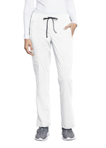 MOTION by BARCO Scrub Pant XSP / 10 White Ladies Claire Pant PETITE