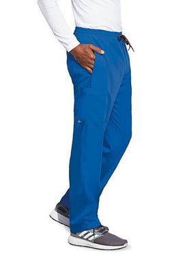 MOTION by BARCO Scrub Pant XSS / NEW ROYAL / 64% POLYESTER / 33% RAYON / 3% SPANDEX MOTION by BARCO - Mens Jake Pant MOP016 STOUT