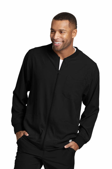SKECHERS by Barco | Men's Structure Warm-Up Jacket SK0408 2XL-5XL
