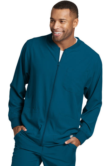SKECHERS by Barco | Men's Structure Warm-Up Jacket SK0408