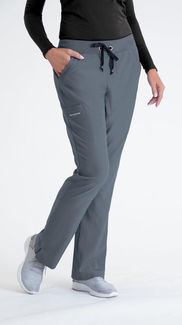 Skechers by BARCO Scrub Pant XXS / 18 Pewter Ladies Focus Scrub Pant