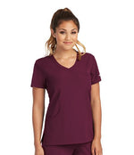 Skechers by BARCO Scrub Top XXS / 65 Wine Ladies Reliance Scrub Top | Express Dispatch