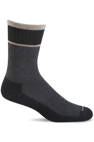 Ladies Plantar Crew Cush| Graduated Compression 15-20mmHg SW32W