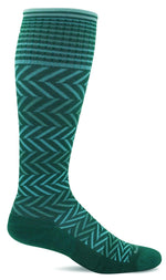 Sockwell Therapeutic Compression Socks Ladies Chevron Graduated Compression 15-20 mmHg