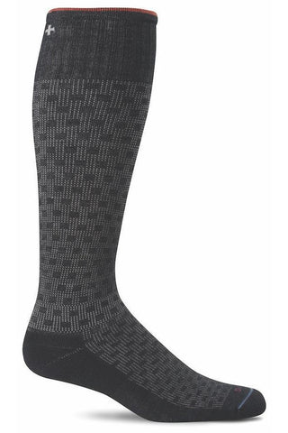 Compression Socks - Womens Chevron - Moderate 15-20 mmHg SW7W