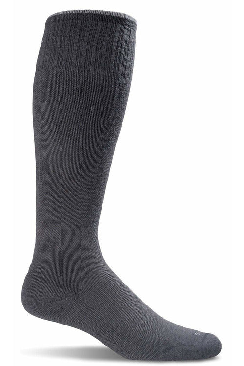 Men's Circulator | Graduated Compression Moderate 15-20 mmHg SW1M Therapeutic Compression Socks Sockwell M/L Black MERINO WOOL/BAMBOO/NYLON/SPANDEX