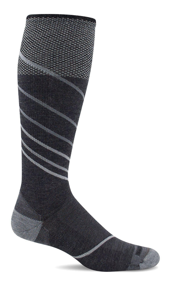 Sockwell Graduated Compression Sock M/L / Charcoal 850 Men's Pulse OTC | Firm Graduated Compression Socks