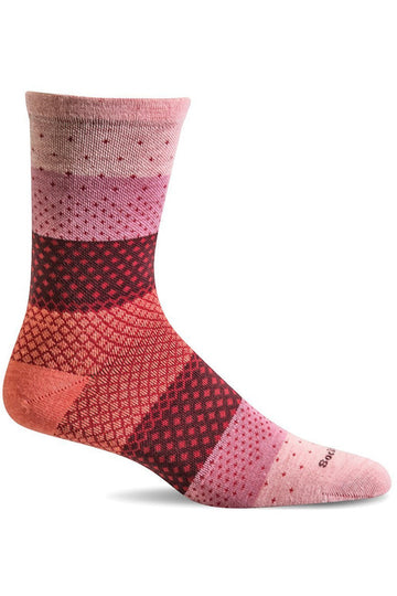 Ladies Plantar Ease Crew | Graduated Compression 15-20mmHg SW72W