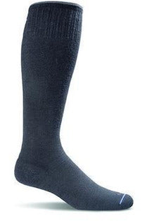 Women's Circulator | Graduated Compression Moderate 15-20mmHg SW1W Therapeutic Compression Socks Sockwell S/M Black MERINO WOOL/BAMBOO/NYLON/SPANDEX