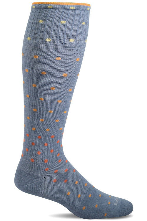 Sockwell Seasonal Socks S/M / Bluestone Ladies On The Spot | Graduated Compression Moderate 15-20 mmHg SW3W