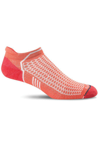 Sockwell Therapeutic Compression Socks S/M / Guava / WOOL/BAMBOO/NYLON/SPANDEX Ladies Incline Micro | Graduated Compression Moderate 15-20 mmHg PA6W