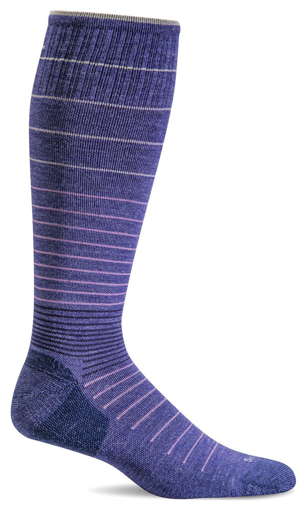 Sockwell Therapeutic Compression Socks S/M / Hyacinth 310 Ladies Circulator Graduated Compression Moderate 15-20mmHg