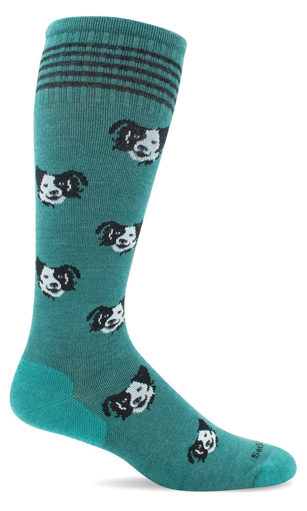 Sockwell Graduated Compression Sock S/M / Jade 485 Women's Canine Cuddle | Moderate Graduated Compression Socks