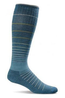 Women's Circulator | Graduated Compression Moderate 15-20mmHg SW1W Therapeutic Compression Socks Sockwell S/M Teal MERINO WOOL/BAMBOO/NYLON/SPANDEX