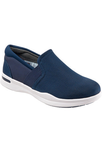 Grey's Anatomy Vantage - Navy Ballistic - Softwalk G1600-427 Shoes The Scrub Store 6 Navy/White Synthetic Upper