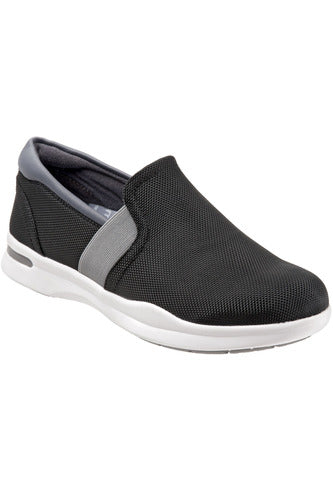 Grey's Anatomy Vantage - Black/Grey Ballistic - Softwalk G1600-028 Shoes The Scrub Store 8 Black/Grey Synthetic Upper