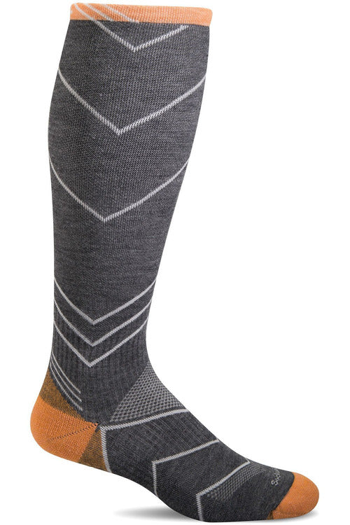 The Scrub Store M/L / Charcoal / MerinoWool/Rayon/Nylon/Spandex Men's Incline Knee High | Graduated Compression Socks 15-20mmHG Moderate Graduated Compression SW8M