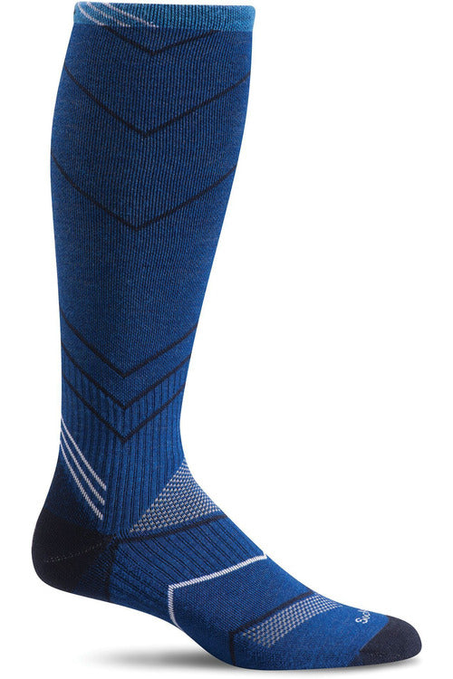 The Scrub Store M/L / Ink / MerinoWool/Rayon/Nylon/Spandex Men's Incline Knee High | Graduated Compression Socks 15-20mmHG Moderate Graduated Compression SW8M