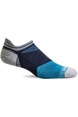 The Scrub Store M/L / Navy / MerinoWool/Rayon/Nylon/Spandex Men's Flash | Moderate Compression Socks SW66M