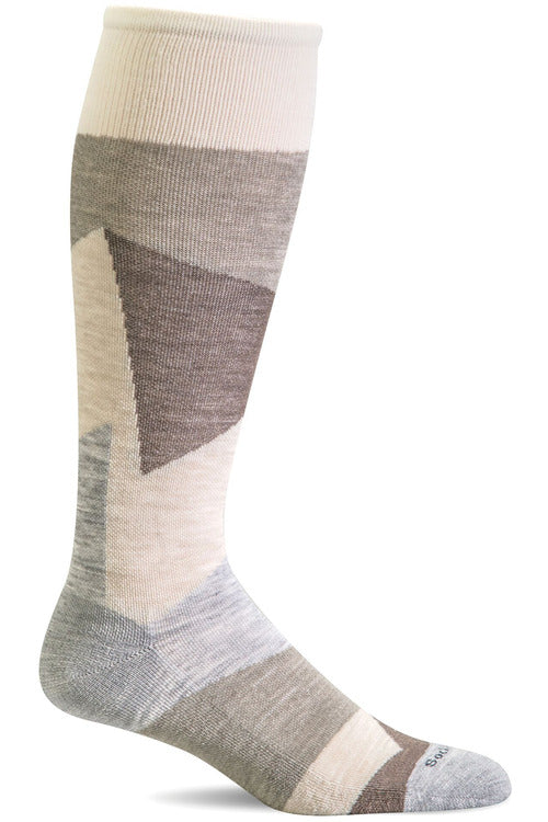 The Scrub Store S/M / Lt Grey / MerinoWool/Rayon/Nylon/Spandex Ladies Emboldened | Graduated Compression Socks 20-30mmHG Firm Compression SW69W