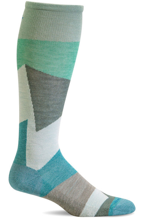 The Scrub Store S/M / Mineral / MerinoWool/Rayon/Nylon/Spandex Ladies Emboldened | Graduated Compression Socks 20-30mmHG Firm Compression SW69W