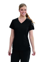 The Scrub Store XS / 01 Black Ladies Avana Scrub Top