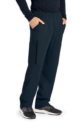 The Scrub Store XXS / Steel / 74%Polyester/23%Rayon/3%Spandex Copy of GREY'S ANATOMY IMPACT - MEN'S ASCEND PANT 0219