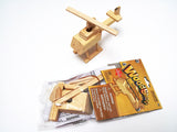 Wooden transportation craft kits: race car, helicopter, airplane, ship