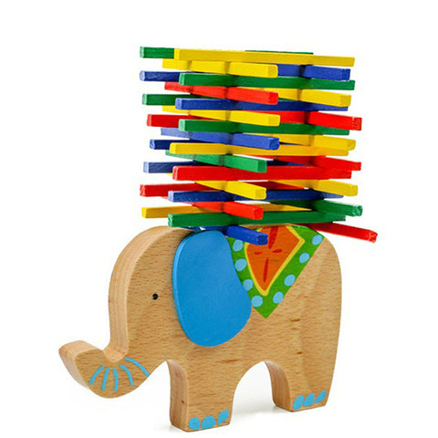 Stacking balancing busy bag CAMEL and ELEPHANT