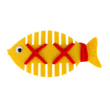 Fish thread wrapping educational busy bag