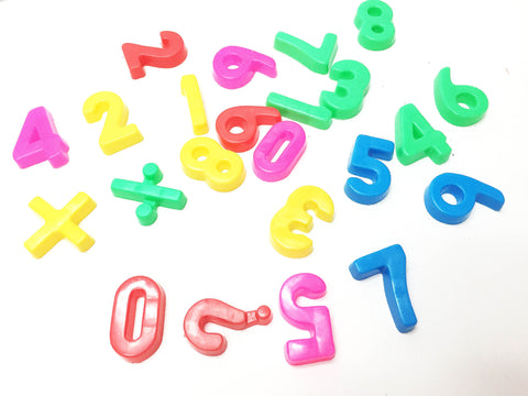 Mini number math set