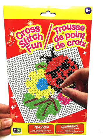 Cross stitch kit for young kids