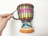 African drum mini authentic handmade