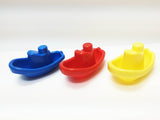 Transportation Montessori boats variety: stacking for 0-2 y.o