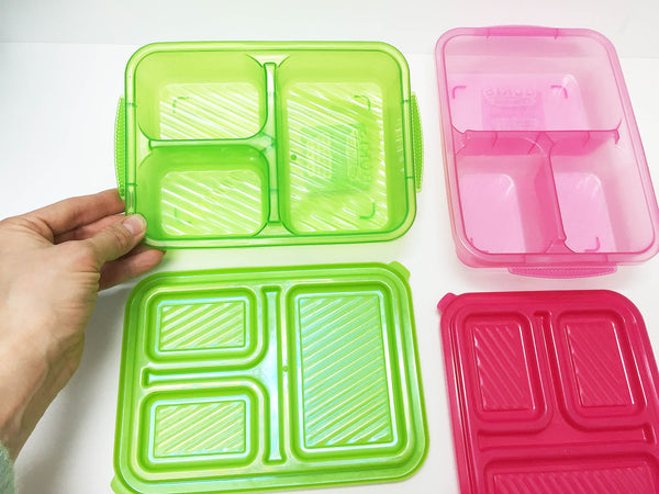 Montessori organizers: divided container