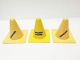 Construction Yellow Cones for classroom and play