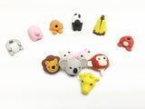 Mini animal eraser puzzles