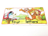 Vinni the Pooh Falshcards 3 part number puzzle