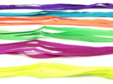 Shoelaces colored 46""