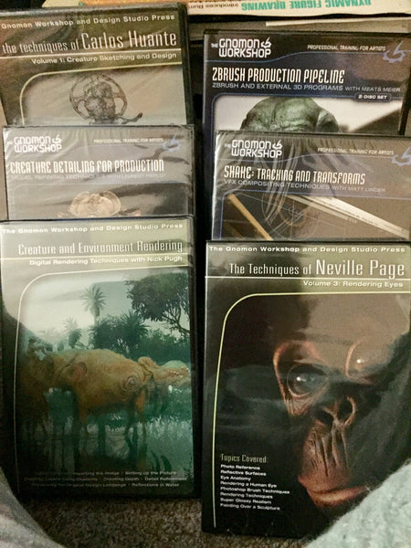 Gnomon DVD many titles, out of print rare items