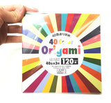 Origami color paper 120 ct